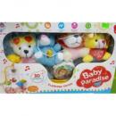 Музыкальная подвеска-карусель мобиль Baby Pardise маленькая Beiying Toys 648A-38 Разноцветный (tsi_28068)