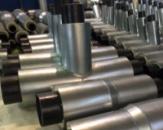 Тройник стальной для трубы 133/225 в СПИРО оболочке