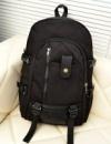 3-74 молодежный рюкзак городской рюкзак стильный вместительный / женский рюкзак Цвет - черный