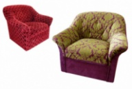 Перетяжка кресел, ремонт кресла и реставрация мягкой мебели Киев