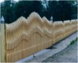 Изготовление и установка деревянных заборов