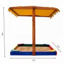 Деревянная песочница Sportbaby №23