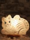 Соляна лампа Кішка 2Д