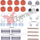 4506 Ремкомплект направляющих суппорта Haldex MARK II III IV, 89541, H0030, CHSK1, 12638