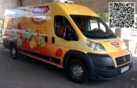 Брендирование коммерческого транспорта для ТМ ЯШКИНО в Днепропетровске