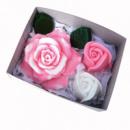 Набор мыла ручной работы «Розовый букет» 140 г