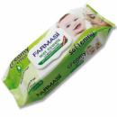 Детские влажные салфетки с кремом 72 шт Farmasi Baby WetTowel Creamy Effect