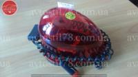 Мигалка  капелька KJ-301 (RL-006) 12V красная в прикуриватель магнитная