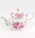Чайник заварочный «Букет роз» 1200мл, фарфор