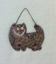 Декоративное панно «Котенок Тишка»