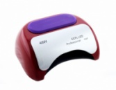 Гибридная CCFL+LED лампа Beauty nail 48W Red
