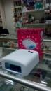 Маникюрная УФ лампа для шеллака Jiadi JD-818. 36Вт Таймер 120сек. бесконечность, выдвижной поддон/ белая
