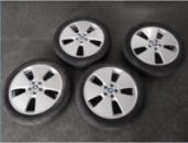 Диск колесный литье 5J R19 комплект 5/112ET43 66,6 с резиной Bridgestone Ecopia EP500 BMW i3 13-; BMW 36116852053