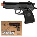 Пистолет металл-пластик ZM21 CYMA