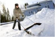Скребок-волокуша Fiskar для уборки снега (143050)