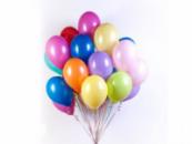 Гелиевые латексные шары без рисунка