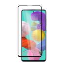 Защитное стекло XD+ (full glue) (тех.пак) для Samsung Galaxy A71 / Note 10 Lite Черное