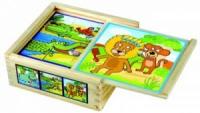 Кубики «Веселые животные», BINO (84198)