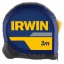 Рулетка Irwin standart 3m