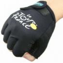 Велоперчатки без пальцев для велосипедистов Tour de France