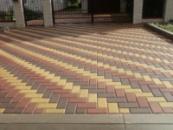 Тротуарная плитка «КИРПИЧИК»
