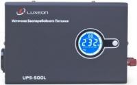 ИБП c правильной синусоидой Luxeon UPS-500L