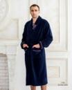Мужской халат Victoria 1703 бамбуковый