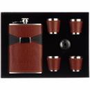 Сувенирный набор фляга и 4 стаканчика STENSON 260 мл (R86712)