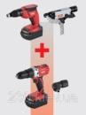 Набор шуруповертов для гипсокартона flex ADW 18-42+AD 18-3R