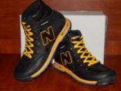 New Balance черные с желтым