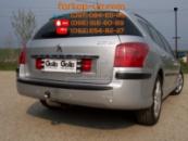 Тягово-сцепное устройство (фаркоп) Peugeot 407 (universal) (2004-2011)