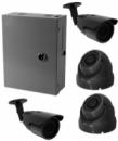 HD система видеонаблюдения на 4 камеры 1200ТВЛ с установкой