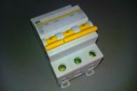 Автоматический выключатель 3р 16А ИЕК ВА47-29