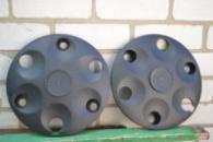 Колпак колеса Таврия, 1102 пластиковый черный 4шт