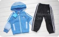 Детский спортивный костюм «Adidas», голубой