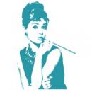Наклейка Декоративная Audrey Hepburn