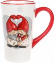 Кружка керамическая «Гномики с подарками» 750мл
