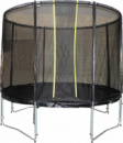 Батут KIDIGO VIP BLACK 244 см с защитной сеткой (hub_CWYc47192)