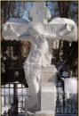Крест из мрамора №3
