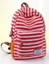 Рюкзак в красную полоску