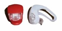 Фонарик для велосипеда HJ008 (предний и задний) , супер яркие лампоч