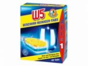Таблетки для посудомоечной машины W5 Dishwasher Tablets «Все в одном» - 40 шт.