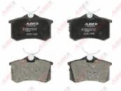 Тормозные колодки компл. задние AUDI 80, A3, A4, A6, ALLROAD; CITROEN C2, C3 I, C3 PLURIEL; PEUGEOT 307, 405 I, 405 II,