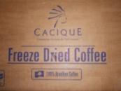 Кофе сублимированный Касик Cacique вес 25, 28 кг в ящике