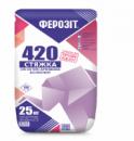Ферозіт 420 суміш для виконання стяжки армована волокном