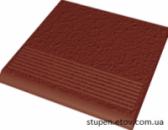 Ступень рельефная простая структурная NATURAL ROSA 30x30