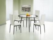 Стол со стеклянной столешницей «BOND + K4»
