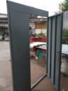 Тамбурная дверь с верхней и боковой фрамугой