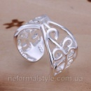 Tiffany кольцо «узор» (покрытие серебро 925).
