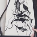 Рисунок Морские существа